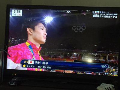 内村航平選手 個人総合 金メダル 大逆転!