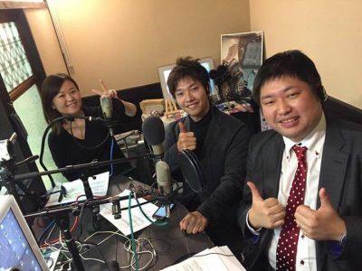 FM GIG(京都)ラジオ収録に行ってきました!
